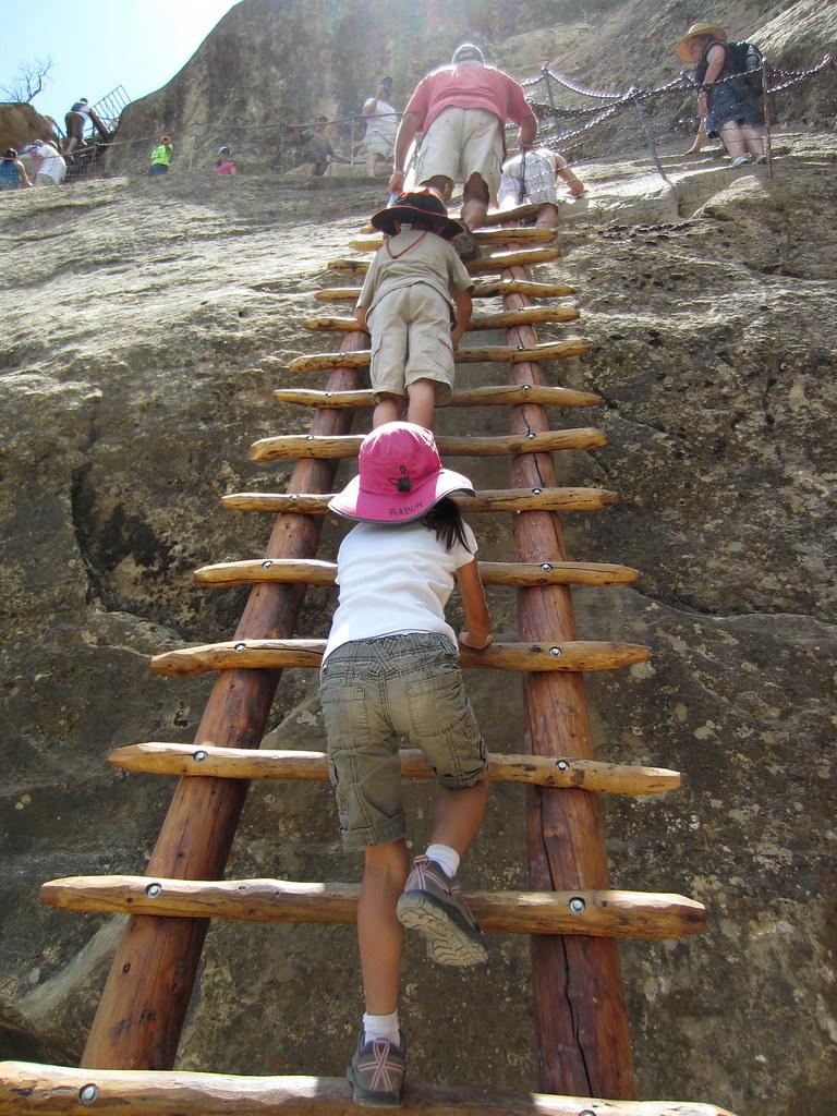 2011- Balcony House Tour, Mesa Verde: 2nd big ladder | Flickr