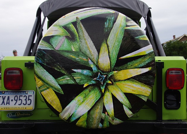 Unique Jeep Spare Tire Cover