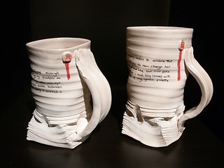 Sue Mifsud, Distance learning ceramics degree show | by extra-minty