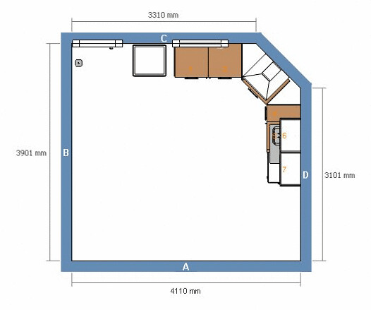 Plan De Notre Cuisine Ikea Notre Maison Flickr