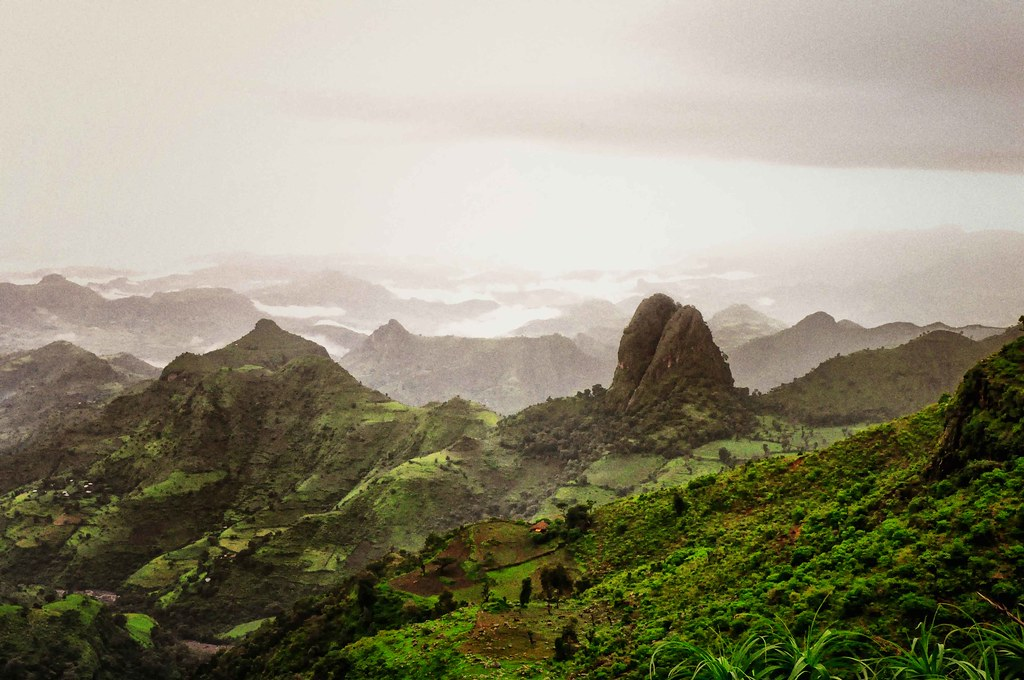 Simien Mountains, Kingdom Of Gondar