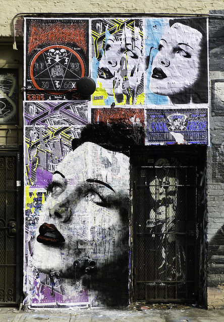 Paste Ups by Rone
