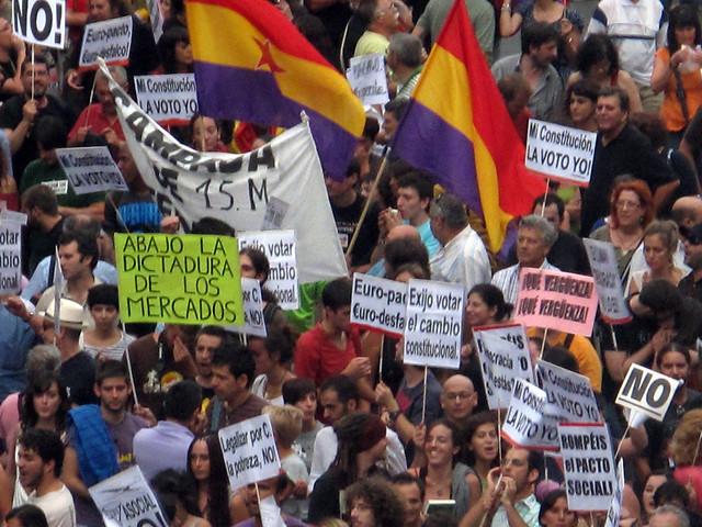 Madrid August 2011 Demonstrations #3