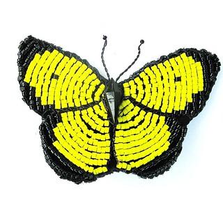 IMG_0851beaded yellow sulphur butterfly