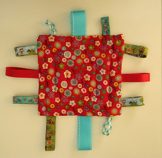 Tag Square Baby Toy