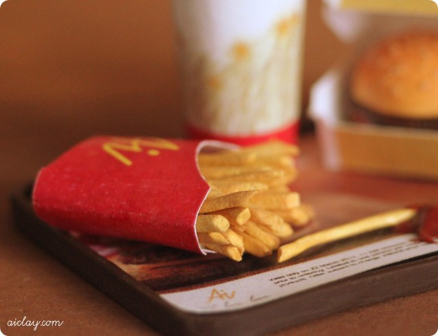 Miniature french fries.