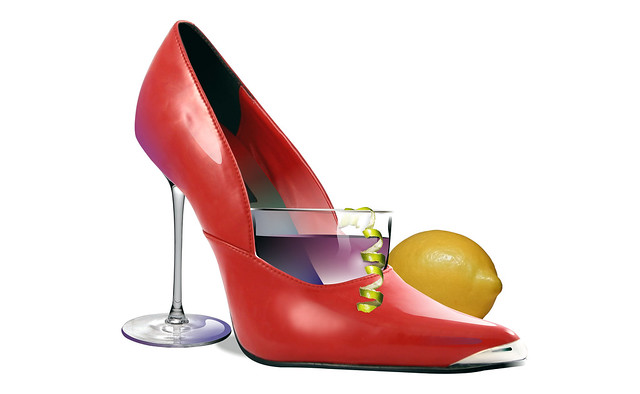Shoe to toast when you are thirsty for a drink.