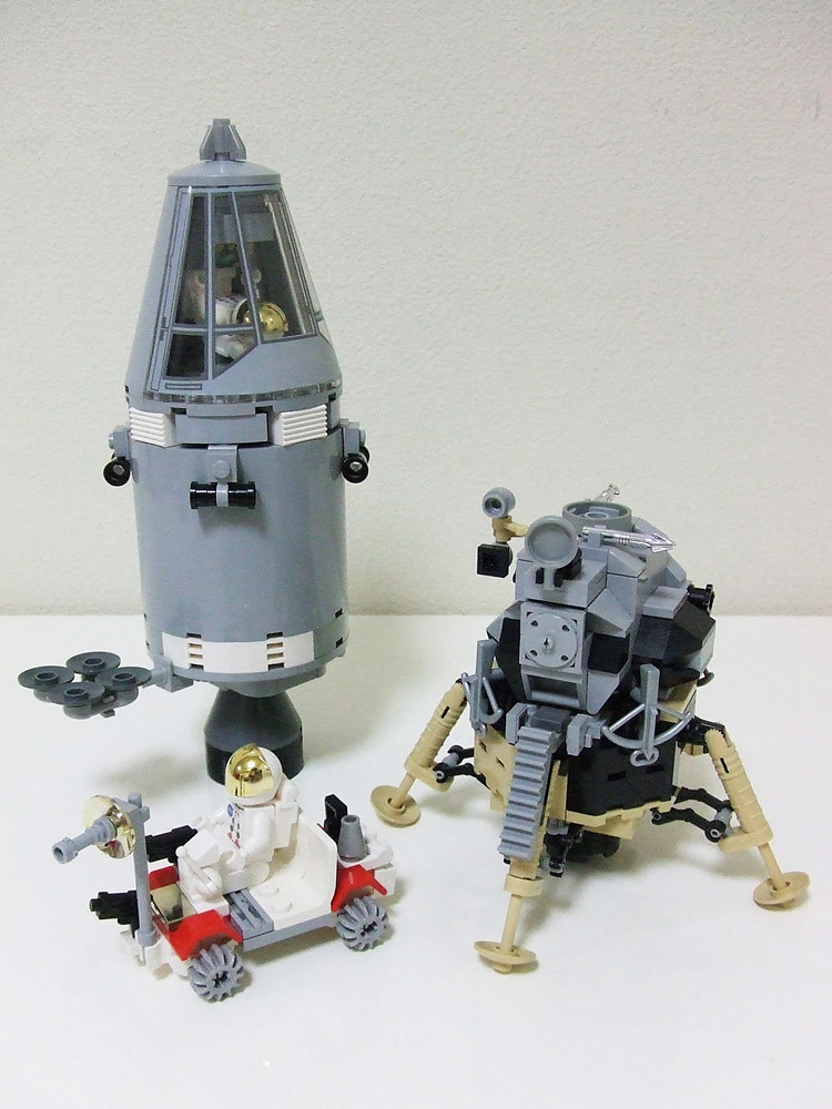 Apollo Moon Mission 02 This Is My Lego Idea And Creation F Flickr