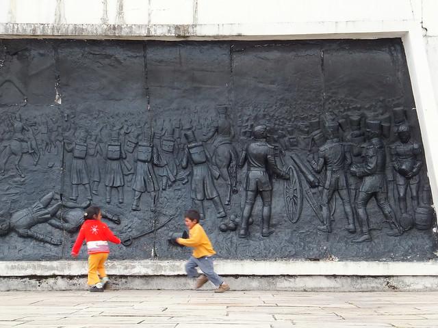 Guerreros heróicos de Ayacucho