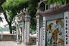 Vstup k chrámu Ngoc Son v Hanoji u jezera Navráceného meče, foto: Andrea Filičková