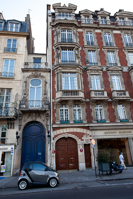 Marvelous Smallest House In Paris With The Smallest Car Parked In Fr Download Free Architecture Designs Terstmadebymaigaardcom