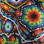 The Huichol Art with PRECIOSA seed beads