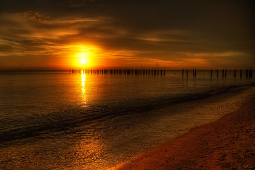beach florida sunsets naples hdr ringexcellence