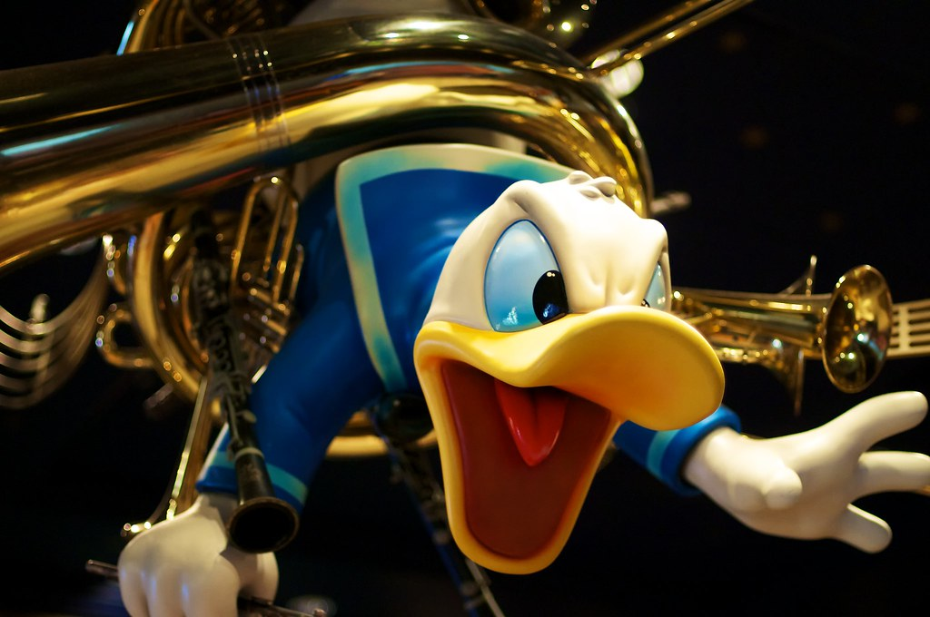 Starring Donald Duck | They may call it Mickey's Philharmagi… | Flickr