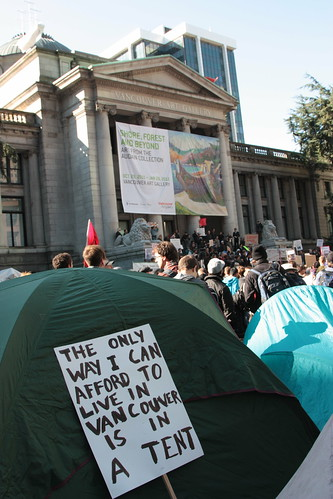 Occupy Vancouver - tent | by ouno design