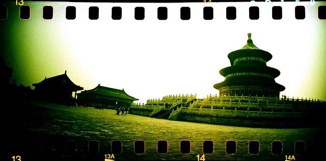 Beijing, Temple of Heaven.