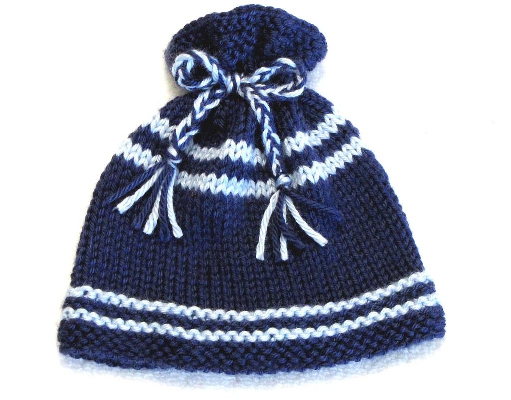 Knitting Pattern Newborn Ez Knit Baby Hat Pattern Gre Flickr