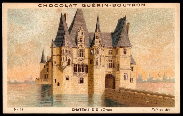 French Tradecard - Chateau d'O