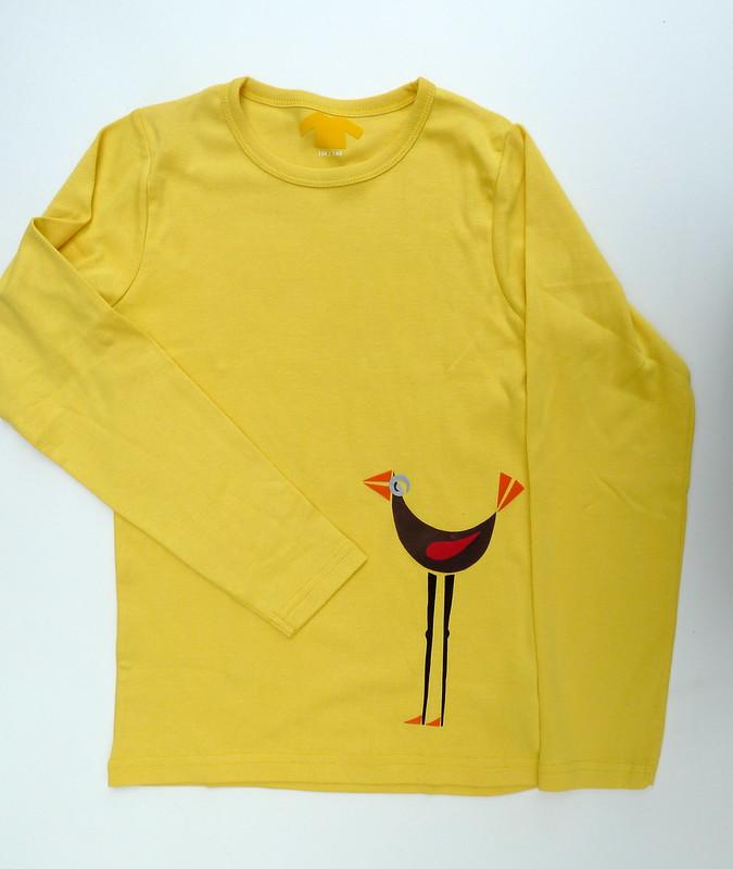 vogel in geel