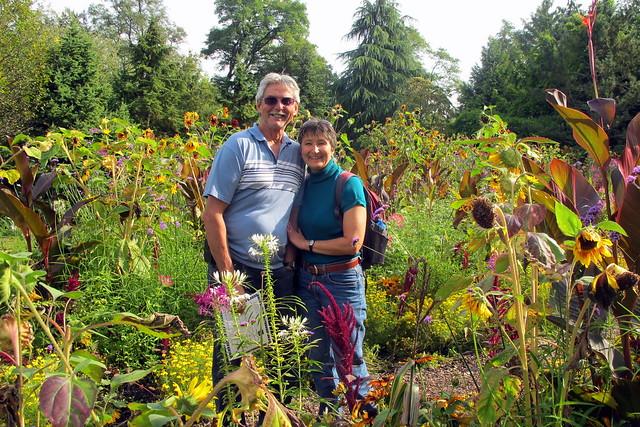 Parents in VanDusen Botanical Gardens
