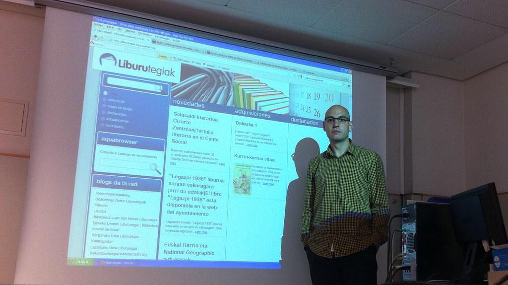 liburutegien blogaren plataforma
