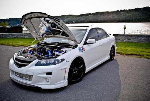 Justin Whitteds Twin Turbo Mazda 6 NX