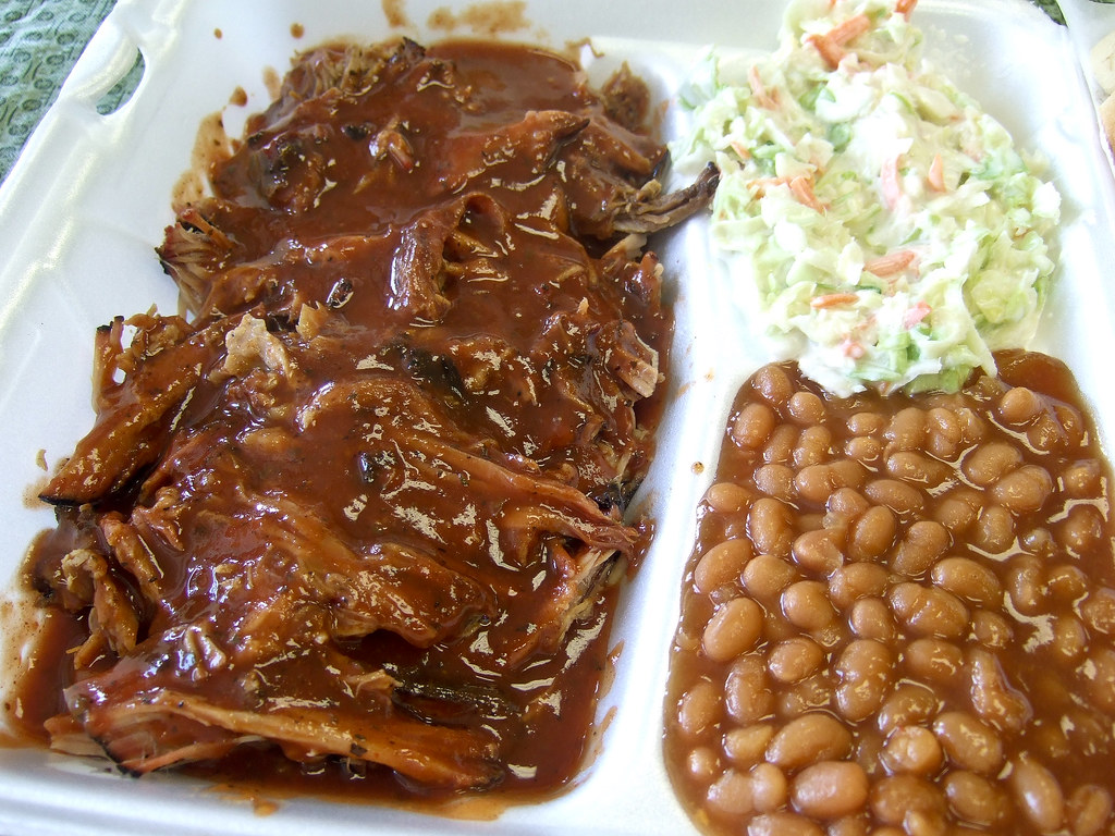 Southern-style pulled pork | Fainmous BBQ, Houston | Flickr