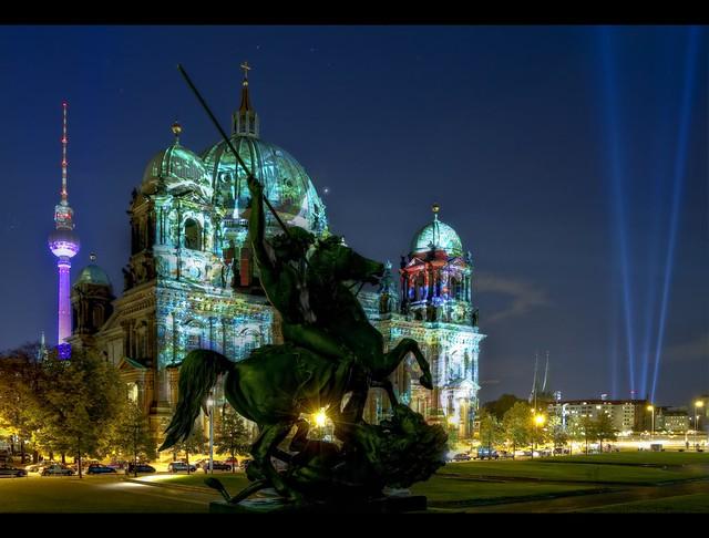 FOL 2011 - Berliner Dom & Fernsehturm - Festival of Lights
