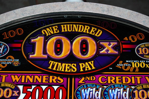 100 Times Pay $1 Slot Machine | by Visual Artist Frank Bonilla