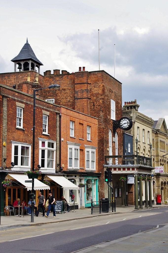 Maldon high street and Town Hall