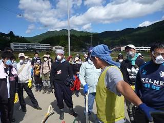 陸前高田市小友町で震災ボランティア(レーベン隊) Volunteer at Rikuzentakata, Iwate pref. Deeply Affected Area by the Tsunami of Japan Earthquake | by jetalone