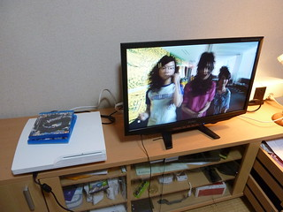 White PS3 & 3DTV | by kalleboo