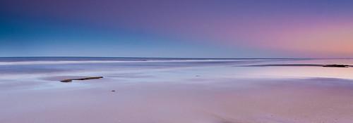 ocean pink blue sky beach florida