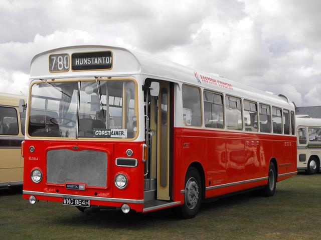 RLE 864 (1), WNG 864H, Bristol RE, ECW Body, 1970 (t.2011)