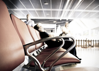 Sleeping at the airport | by _Franck Michel_