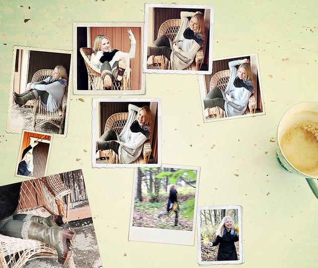 Kollaasi Liivian kuvista