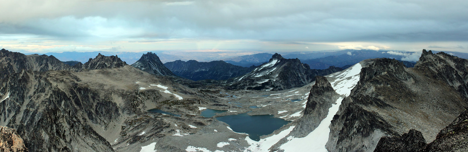 Upper Enchantments panoramic view