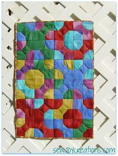 fyb bowtie mini quilt