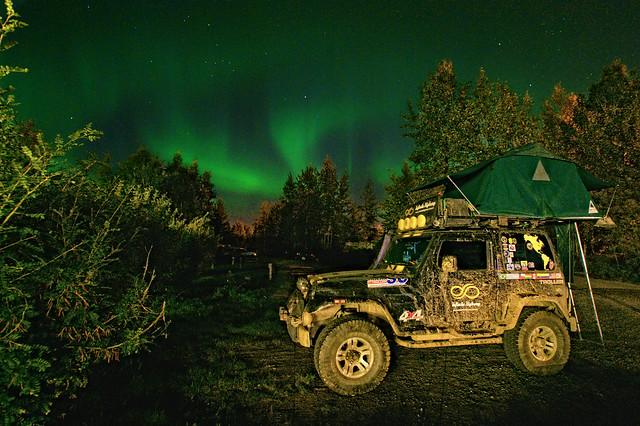 Aurora Boreal - Fairbanks