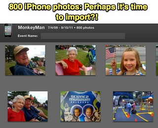 800 iPhone photos: Perhaps it's time to import?! | by Wesley Fryer