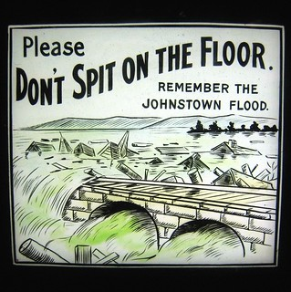 Please don't spit on the floor.