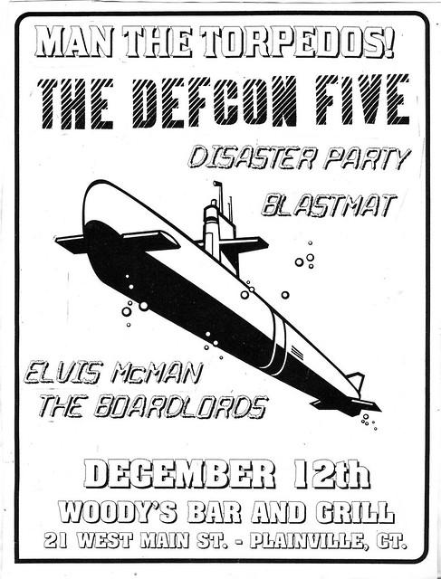 Defcon Five / Blastmat / Elvis McMan / The Boardlords