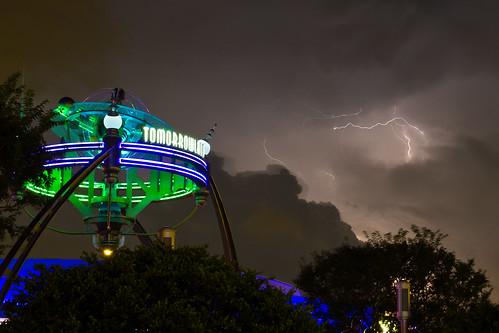 Magic Kingdom - Darkened Tomorrowland | by Jeff Krause Photography
