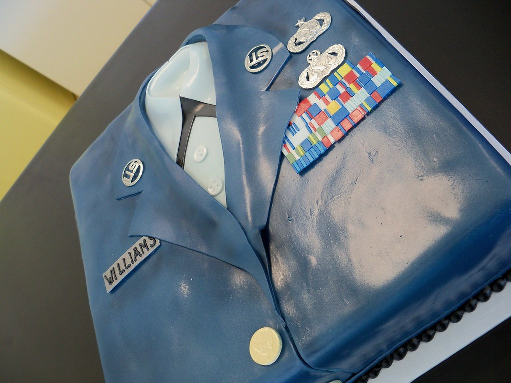 Air Force Retirement cake | Custom orders REQUIRE at least 1