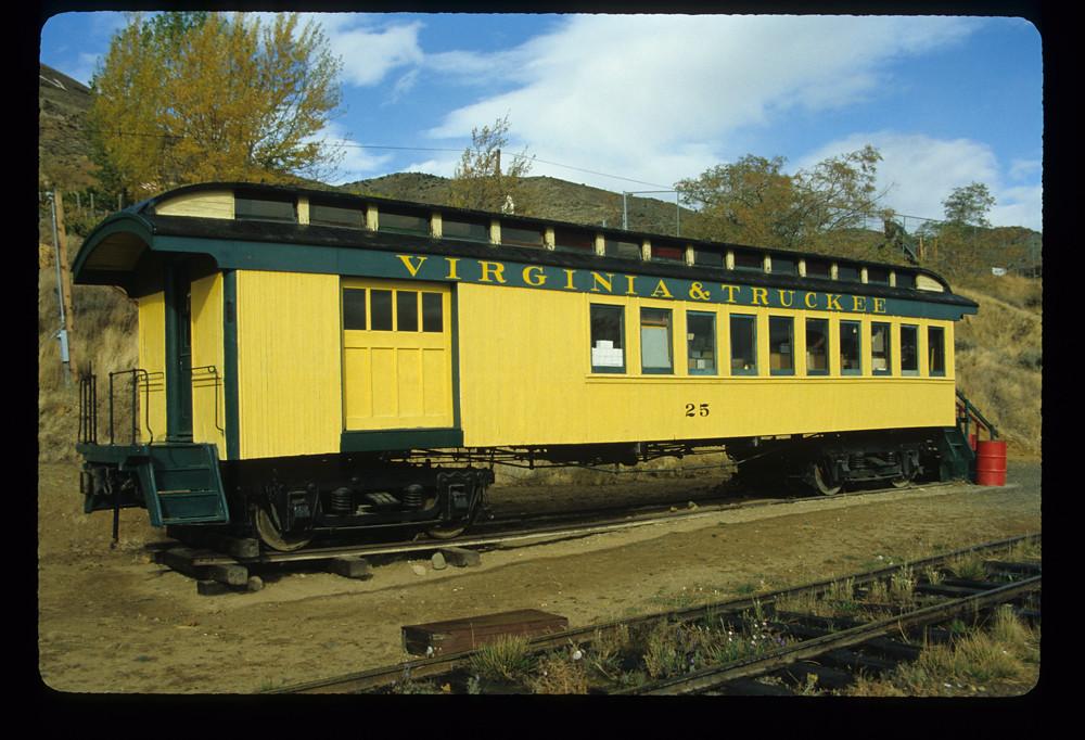 V Amp T 25 Combine Nevada State Railroad Museum Carson City