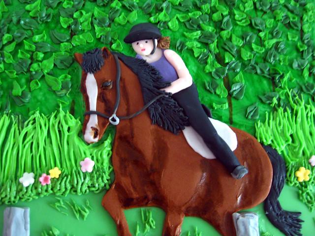 Horseback Riding cake