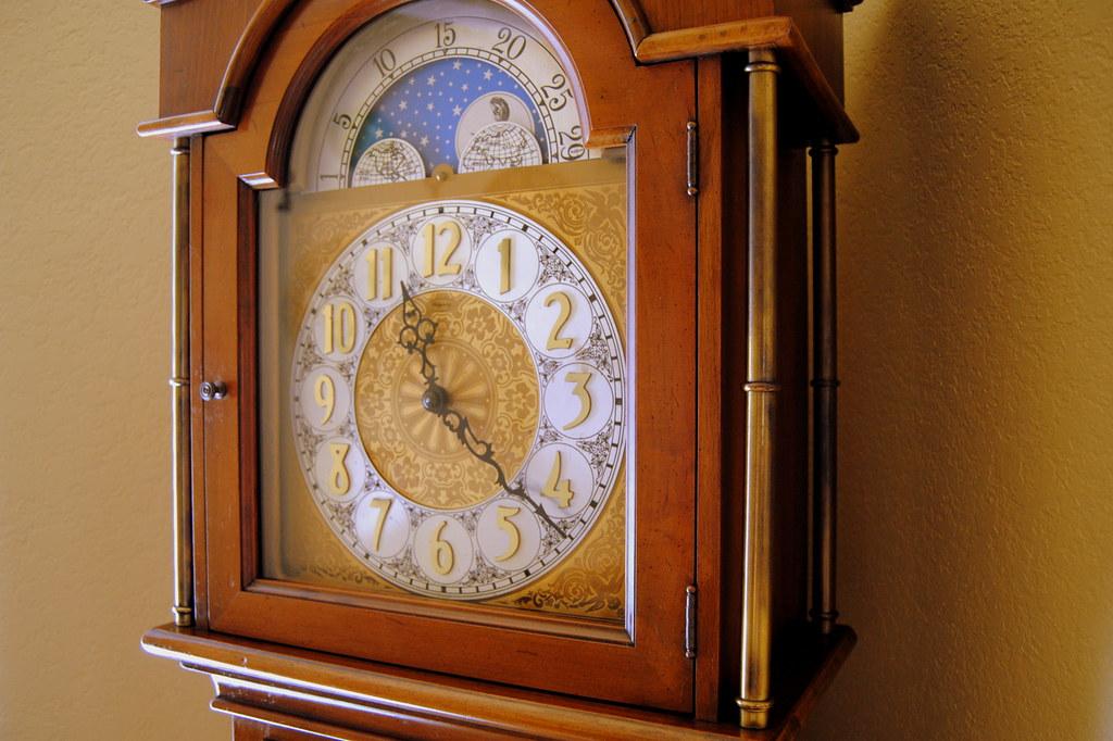 Ridgeway Grandfather Clock - Face and Hood Closeup   Flickr