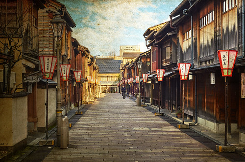 street travel sky japan sunrise vintage paper kanazawa blending chubu travelphotography