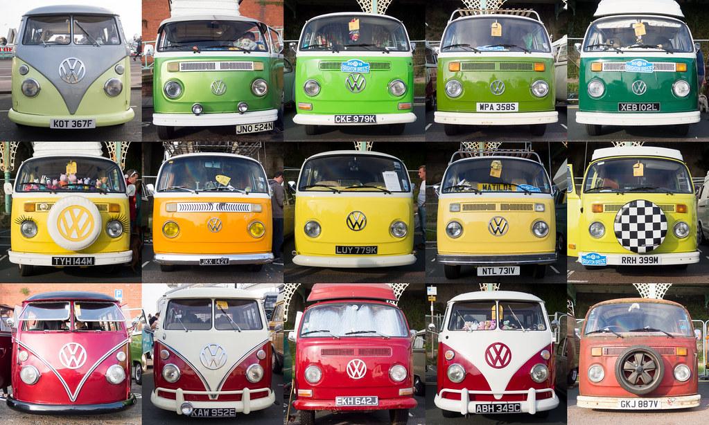 Rasta VW Camper Vans Montage | A little Rasta remix of my ea