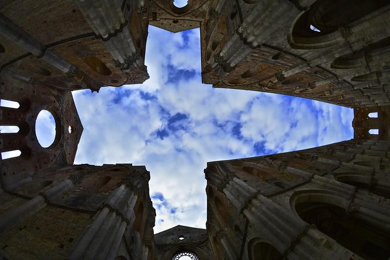 Fisheye In San Galgano Abbey [Explore]